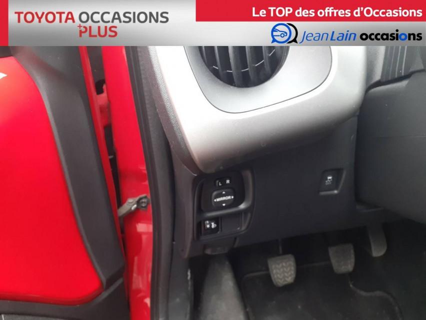 TOYOTA AYGO Aygo 1.0 VVT-i x-red 14/11/2017                                                      en vente à Crolles - Image n°12
