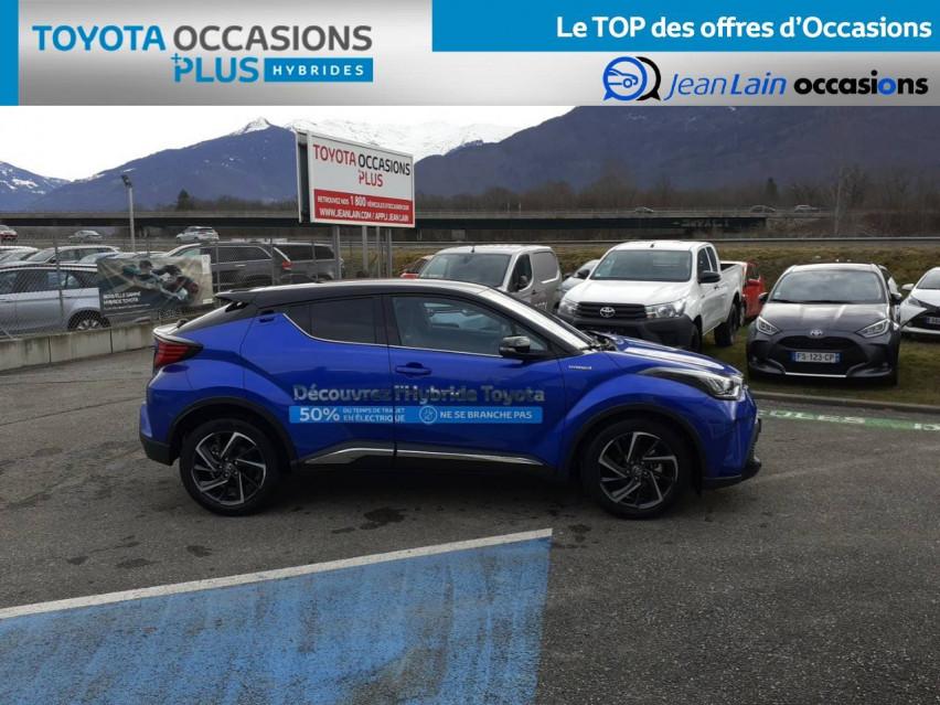 TOYOTA C-HR HYBRIDE MY20 C-HR Hybride 1.8L Graphic 22/01/2021                                                      en vente à Tournon - Image n°4
