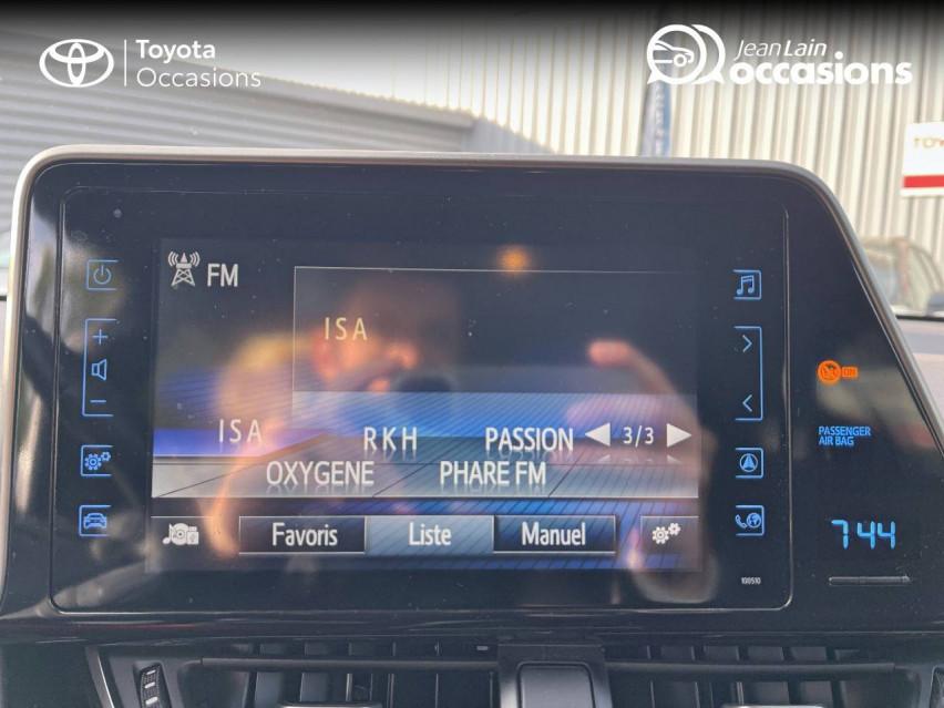 TOYOTA C-HR HYBRIDE C-HR Hybride 122h Edition 19/12/2018                                                      en vente à Meythet - Image n°15
