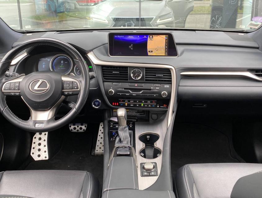 LEXUS RX RX 450h 3.5 V6 313 E-Four F SPORT E-CVT 27/04/2017                                                      en vente à Seyssinet-Pariset - Image n°9