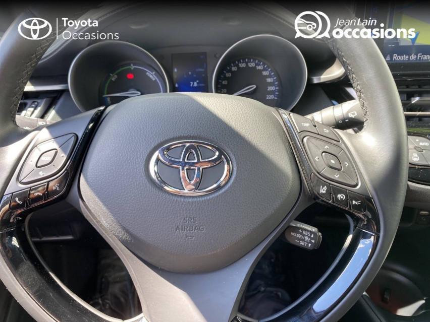 TOYOTA C-HR HYBRIDE C-HR Hybride 122h Dynamic 15/12/2018                                                      en vente à Meythet - Image n°12