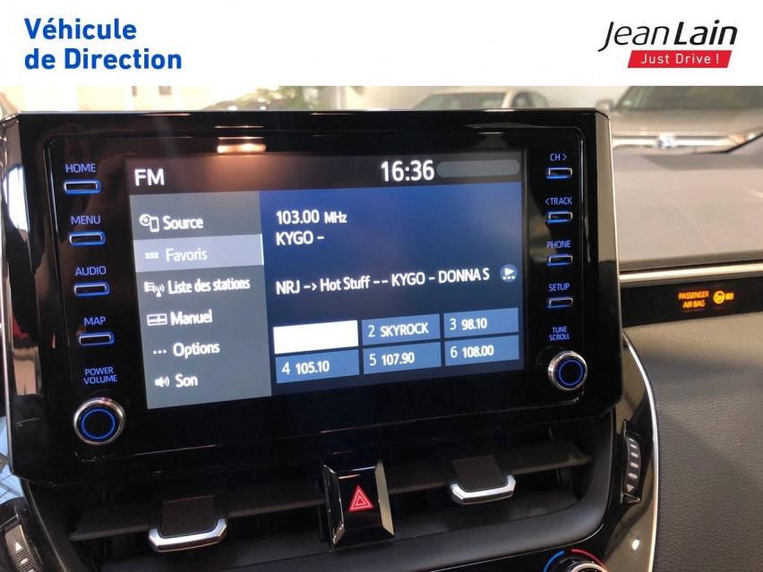 TOYOTA COROLLA TOURING SPORTS HYBRIDE MY20 Corolla Touring Sports Hybride 122h Design 15/01/2020                                                      en vente à La Motte-Servolex - Image n°10