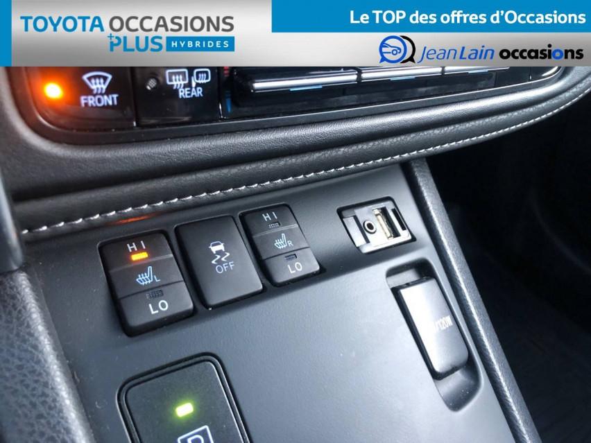 TOYOTA AURIS RC18 Auris Hybride 136h HSD E-CVT TYPE ACTIVE 07/08/2018                                                      en vente à Tournon - Image n°19
