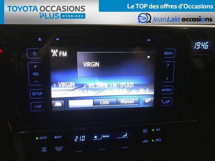 TOYOTA AURIS RC18 Auris Hybride 136h HSD E-CVT TYPE ACTIVE 07/08/2018                                                      en vente à Seyssinet-Pariset - Image n°15