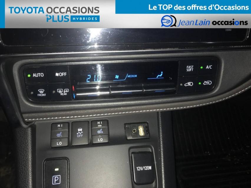 TOYOTA AURIS RC18 Auris Hybride 136h HSD E-CVT TYPE ACTIVE 07/08/2018                                                      en vente à Seyssinet-Pariset - Image n°14