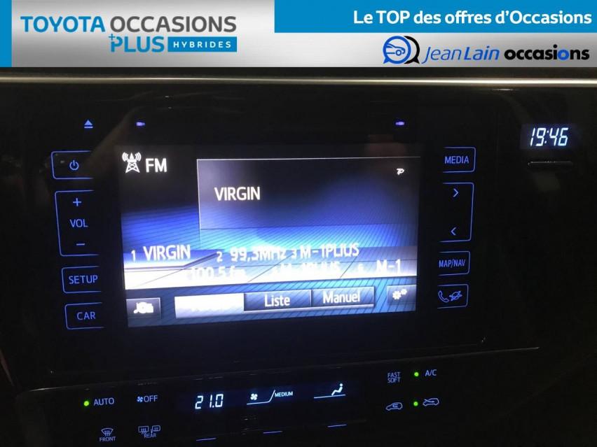 TOYOTA AURIS RC18 Auris Hybride 136h HSD E-CVT TYPE ACTIVE 07/08/2018                                                      en vente à Seyssinet-Pariset - Image n°16