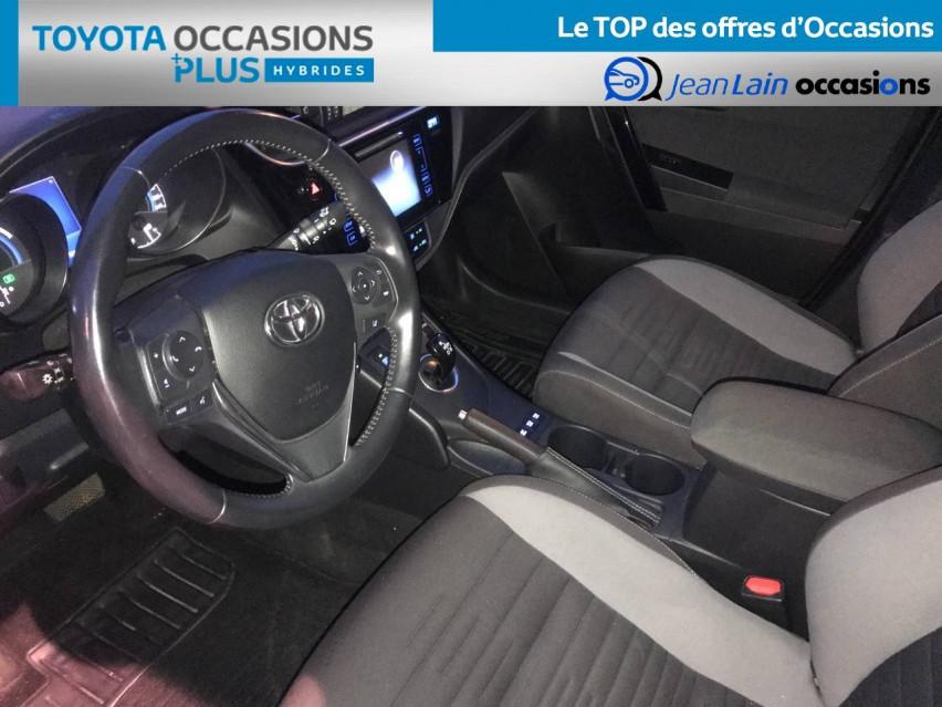 TOYOTA AURIS RC18 Auris Hybride 136h HSD E-CVT TYPE ACTIVE 07/08/2018                                                      en vente à Seyssinet-Pariset - Image n°11