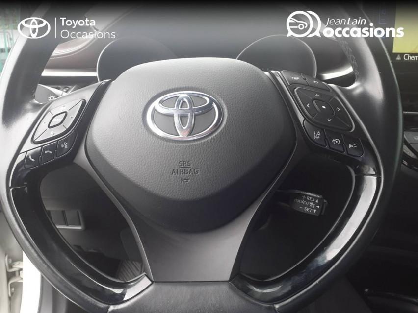 TOYOTA C-HR HYBRIDE C-HR Hybride 122h Distinctive 05/04/2017                                                      en vente à Valence - Image n°12