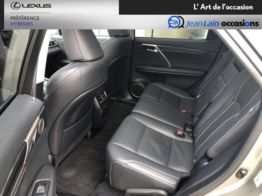 LEXUS RX RX 450h 3.5 V6 313 E-Four E-CVT Luxe panoramique 28/09/2017                                                      en vente à Seyssinet-Pariset - Image n°17