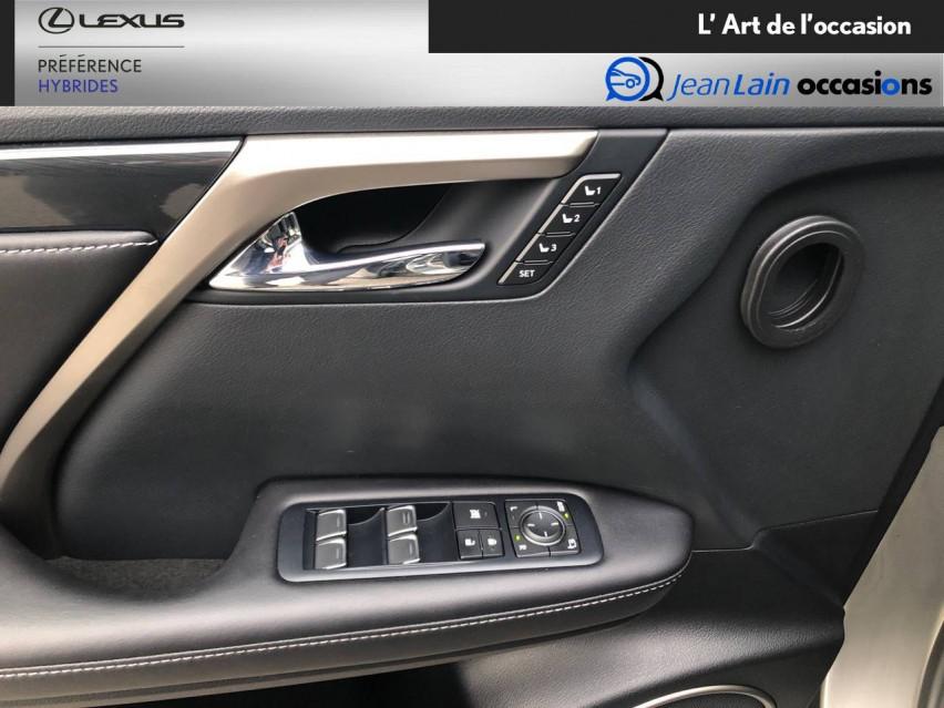 LEXUS RX RX 450h 3.5 V6 313 E-Four E-CVT Luxe panoramique 28/09/2017                                                      en vente à Seyssinet-Pariset - Image n°20