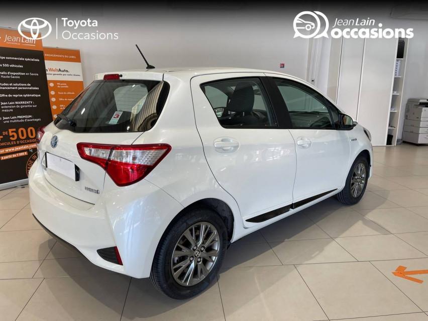 TOYOTA YARIS HYBRIDE MY19 Yaris Hybride 100h Dynamic 17/12/2018                                                      en vente à Albertville - Image n°5