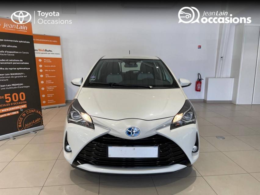 TOYOTA YARIS HYBRIDE MY19 Yaris Hybride 100h Dynamic 17/12/2018                                                      en vente à Albertville - Image n°2