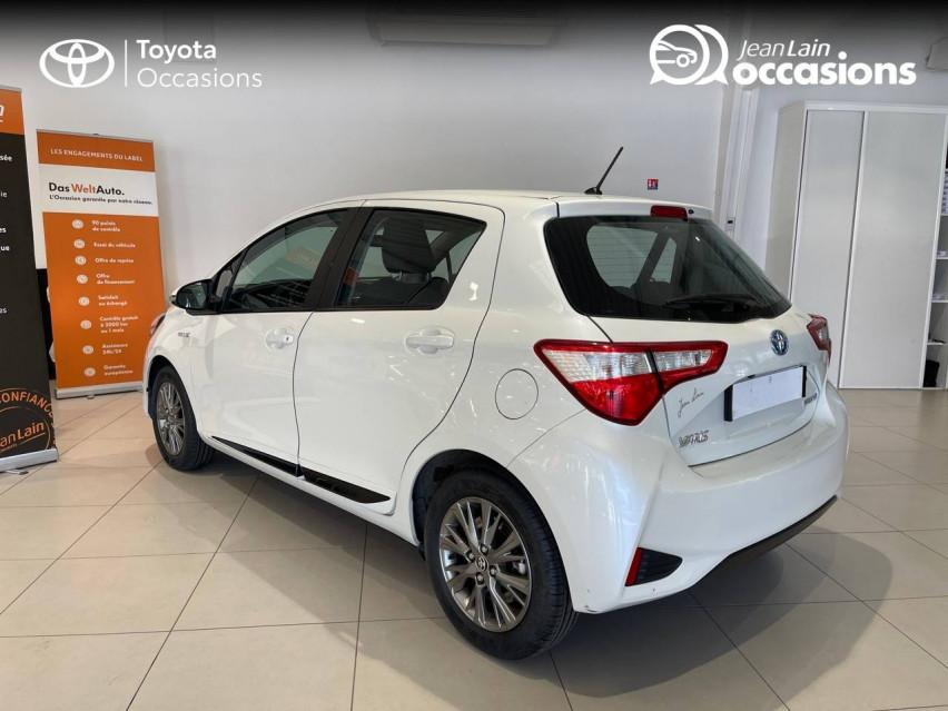 TOYOTA YARIS HYBRIDE MY19 Yaris Hybride 100h Dynamic 17/12/2018                                                      en vente à Albertville - Image n°7