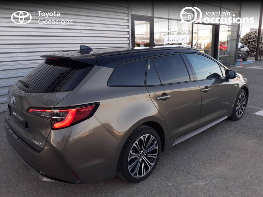 TOYOTA COROLLA TOURING SPORTS HYBRIDE MY20 Corolla Touring Sports Hybride 122h Design 04/02/2020                                                      en vente à Valence - Image n°5