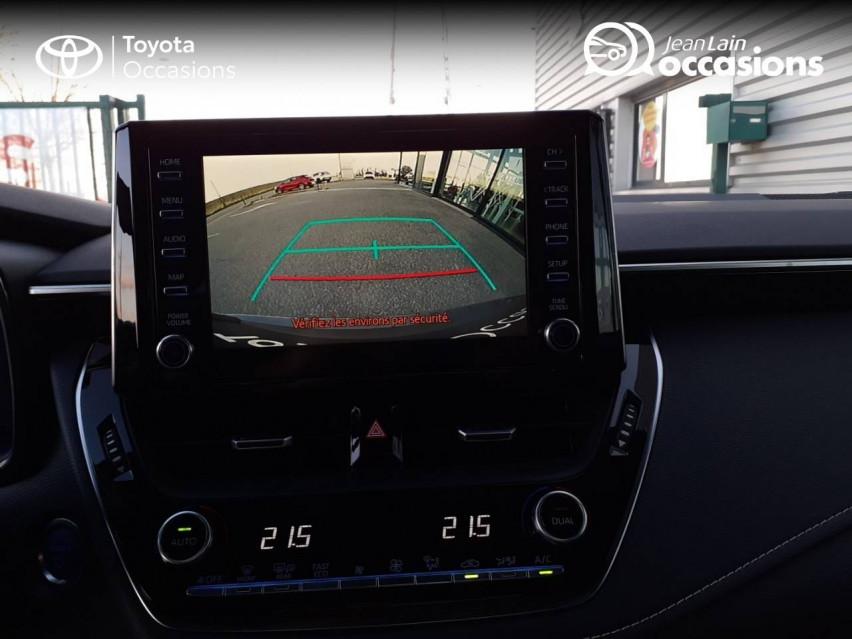 TOYOTA COROLLA TOURING SPORTS HYBRIDE MY20 Corolla Touring Sports Hybride 122h Design 04/02/2020                                                      en vente à Valence - Image n°15