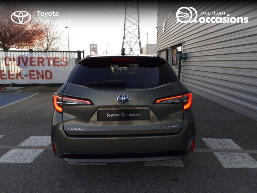 TOYOTA COROLLA TOURING SPORTS HYBRIDE MY20 Corolla Touring Sports Hybride 122h Design 04/02/2020                                                      en vente à Valence - Image n°6