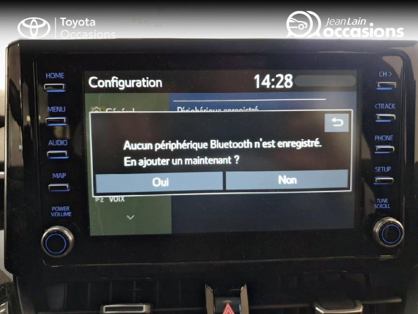 TOYOTA COROLLA HYBRIDE Corolla Hybride 122h Dynamic Business 06/05/2019                                                      en vente à Seyssinet-Pariset - Image n°16
