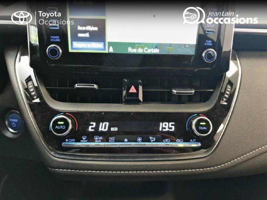TOYOTA COROLLA HYBRIDE Corolla Hybride 122h Dynamic Business 06/05/2019                                                      en vente à Seyssinet-Pariset - Image n°14