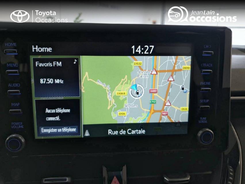 TOYOTA COROLLA HYBRIDE Corolla Hybride 122h Dynamic Business 06/05/2019                                                      en vente à Seyssinet-Pariset - Image n°15