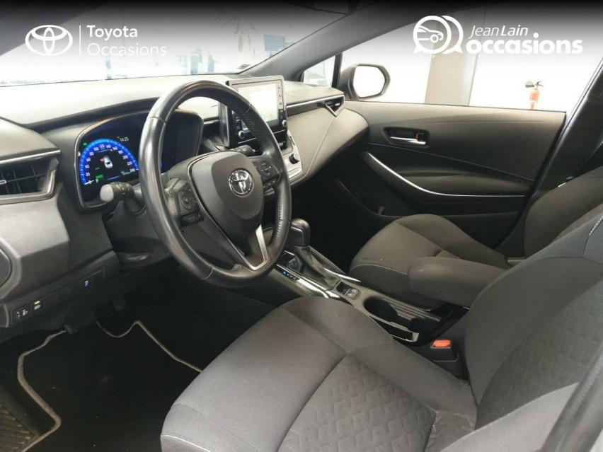 TOYOTA COROLLA HYBRIDE Corolla Hybride 122h Dynamic Business 06/05/2019                                                      en vente à Seyssinet-Pariset - Image n°11