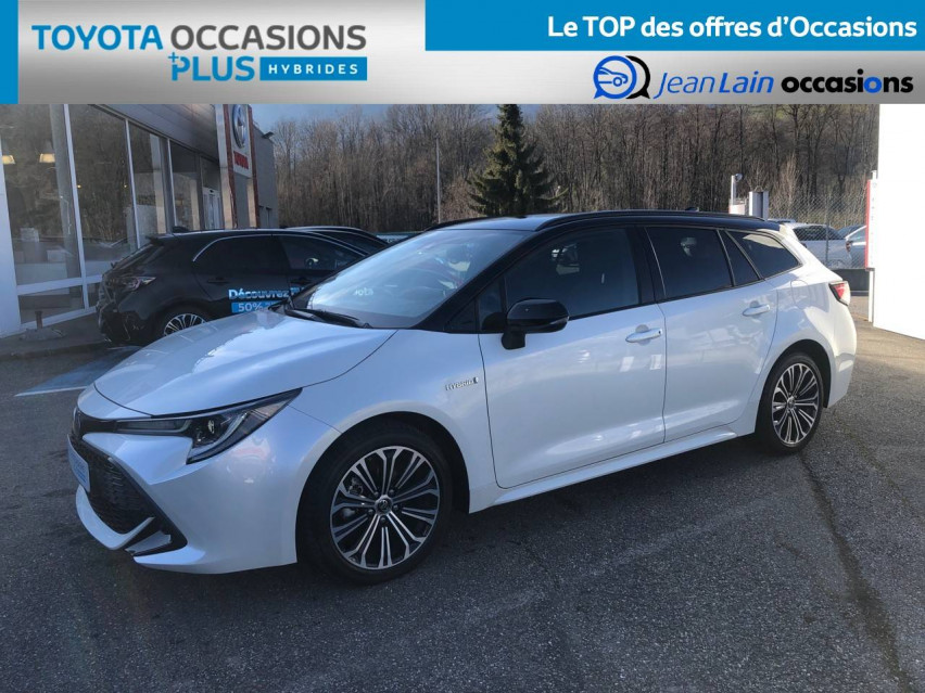 TOYOTA COROLLA TOURING SPORTS HYBRIDE MY20 Corolla Touring Sports Hybride 122h Design 27/02/2020                                                      en vente à Tournon - Image n°1