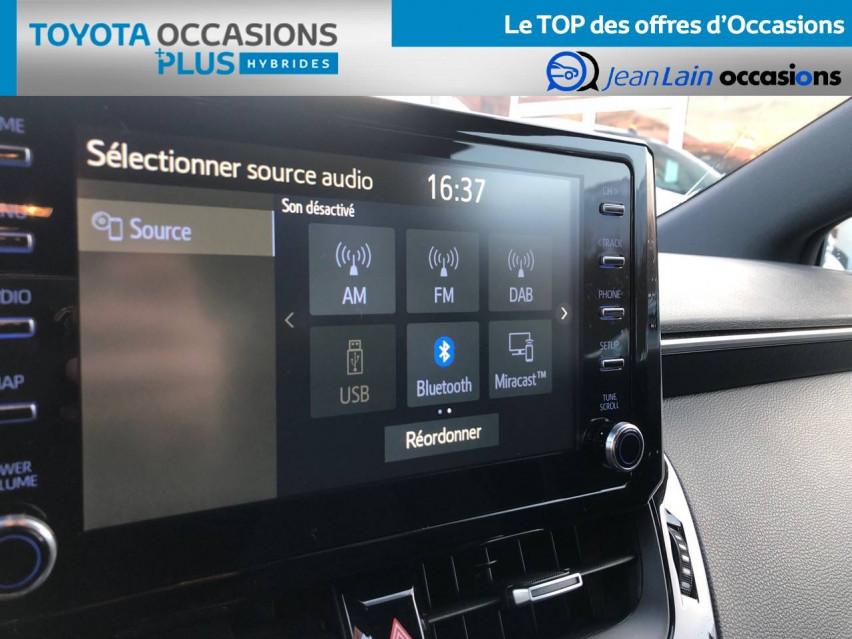TOYOTA COROLLA TOURING SPORTS HYBRIDE MY20 Corolla Touring Sports Hybride 122h Design 24/01/2020                                                      en vente à Tournon - Image n°15