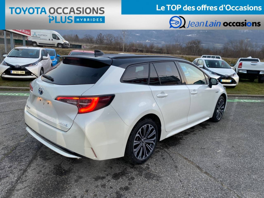 TOYOTA COROLLA TOURING SPORTS HYBRIDE MY20 Corolla Touring Sports Hybride 122h Design 29/01/2020                                                      en vente à Tournon - Image n°5