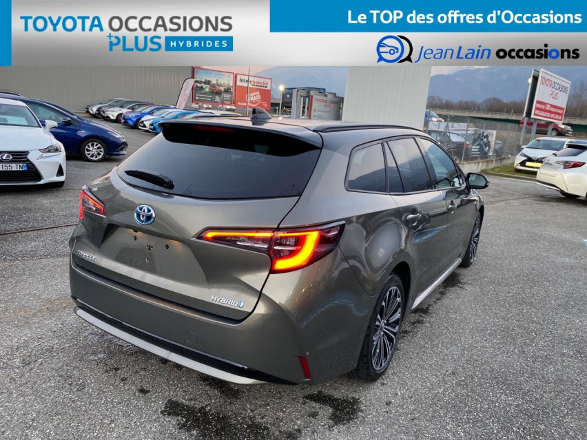 TOYOTA COROLLA TOURING SPORTS HYBRIDE MY20 Corolla Touring Sports Hybride 122h Design 27/02/2020                                                      en vente à Tournon - Image n°5