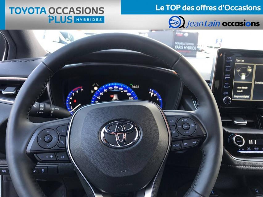 TOYOTA COROLLA TOURING SPORTS HYBRIDE MY20 Corolla Touring Sports Hybride 122h Design 24/01/2020                                                      en vente à Tournon - Image n°12