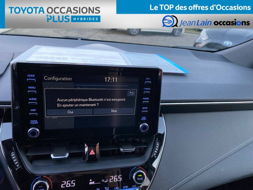 TOYOTA COROLLA TOURING SPORTS HYBRIDE MY20 Corolla Touring Sports Hybride 122h Design 27/02/2020                                                      en vente à Tournon - Image n°15