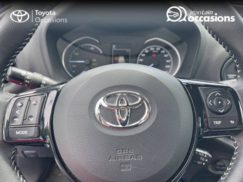TOYOTA YARIS HYBRIDE RC18 Yaris Hybride 100h Dynamic 23/07/2018                                                      en vente à Seynod - Image n°12