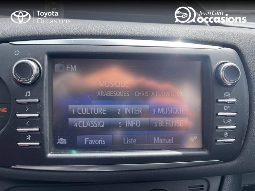 TOYOTA YARIS HYBRIDE RC18 Yaris Hybride 100h Dynamic 23/07/2018                                                      en vente à Seynod - Image n°16