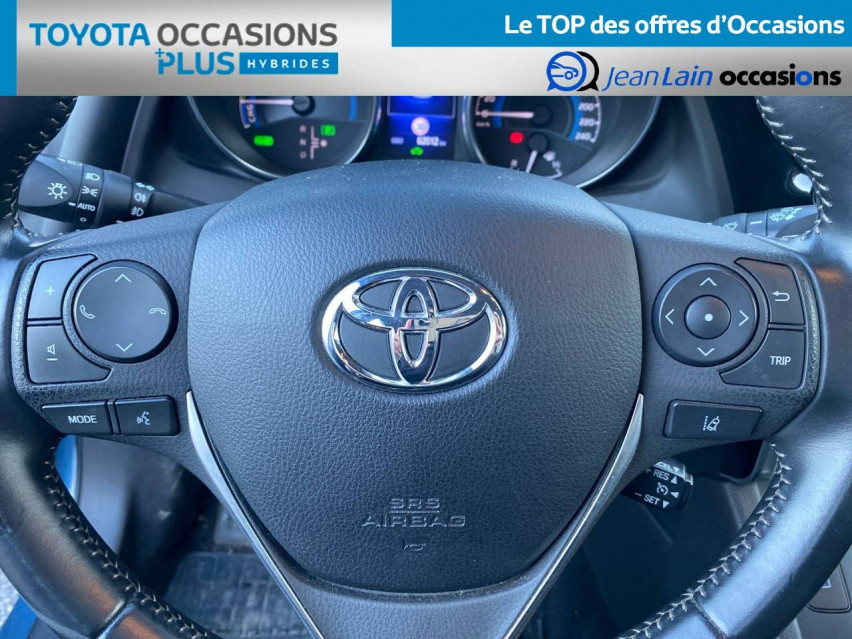 TOYOTA AURIS RC18 Auris Hybride 136h HSD E-CVT TYPE ACTIVE 12/09/2018                                                      en vente à Tournon - Image n°12