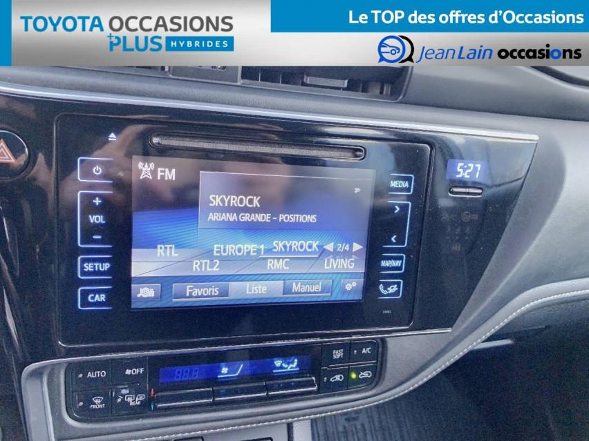 TOYOTA AURIS RC18 Auris Hybride 136h HSD E-CVT TYPE ACTIVE 17/08/2018                                                      en vente à Tournon - Image n°15