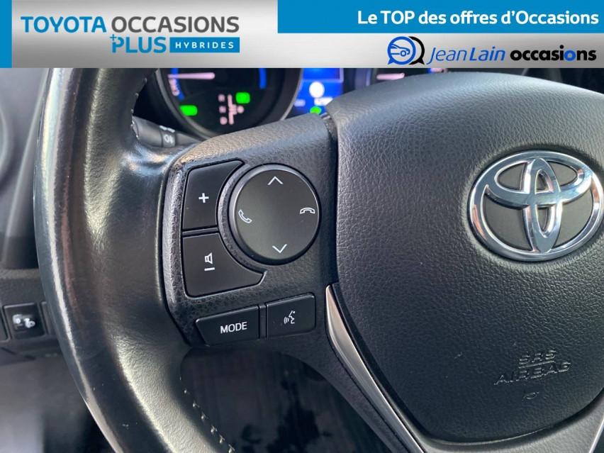 TOYOTA AURIS RC18 Auris Hybride 136h HSD E-CVT TYPE ACTIVE 17/08/2018                                                      en vente à Tournon - Image n°12