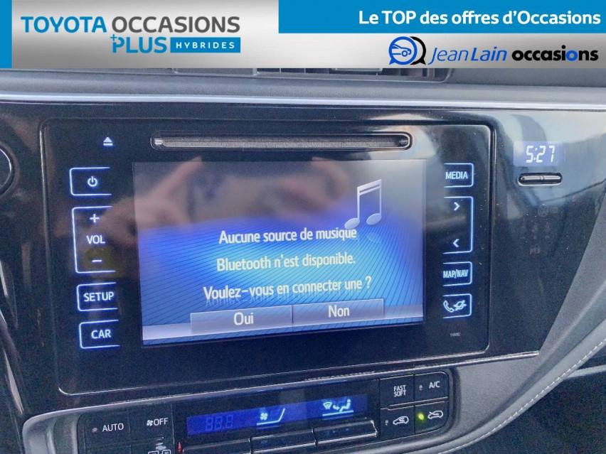 TOYOTA AURIS RC18 Auris Hybride 136h HSD E-CVT TYPE ACTIVE 17/08/2018                                                      en vente à Tournon - Image n°16
