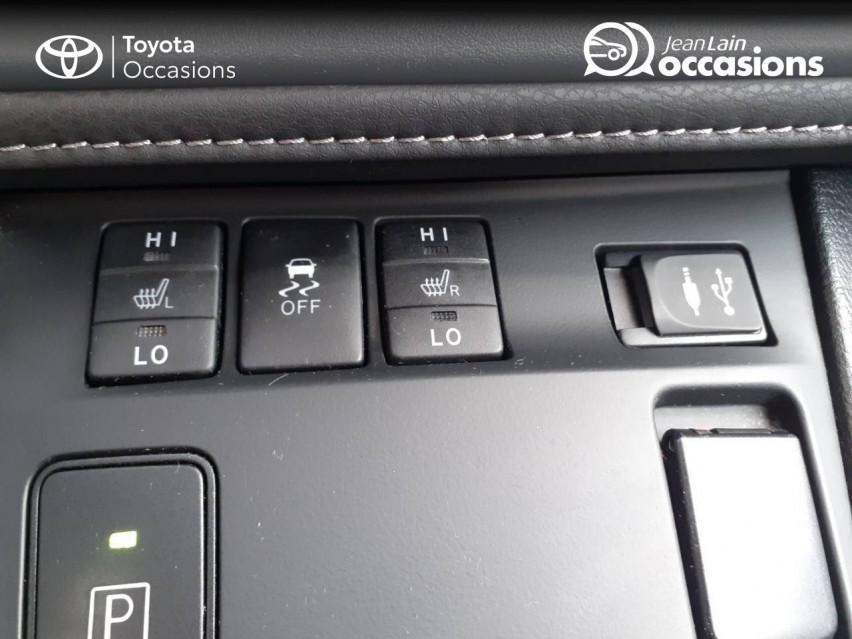 TOYOTA AURIS RC18 Auris Hybride 136h HSD E-CVT TYPE ACTIVE 07/08/2018                                                      en vente à Valence - Image n°19