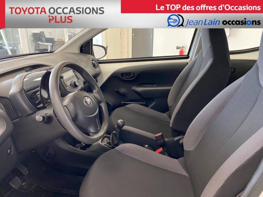 TOYOTA AYGO Aygo 1.0 VVT-i x 14/02/2019                                                      en vente à Seyssinet-Pariset - Image n°11