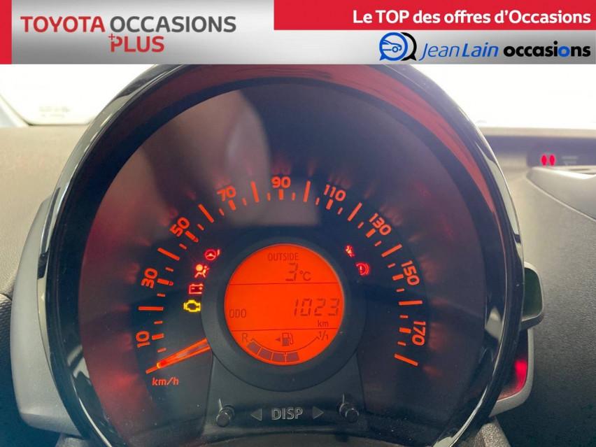 TOYOTA AYGO Aygo 1.0 VVT-i x 14/02/2019                                                      en vente à Seyssinet-Pariset - Image n°12