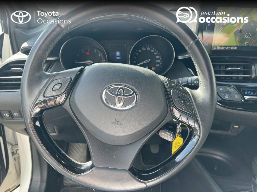 TOYOTA C-HR C-HR 1.2T CVT 4WD Dynamic 29/12/2016                                                      en vente à Tournon - Image n°12