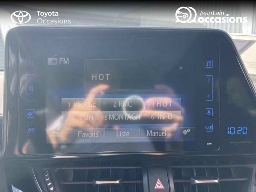 TOYOTA C-HR C-HR 1.2T CVT 4WD Dynamic 29/12/2016                                                      en vente à Tournon - Image n°16