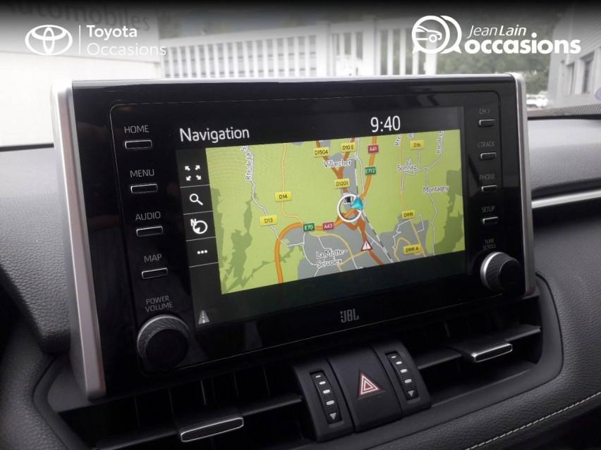 TOYOTA RAV4 HYBRIDE MY20 RAV4 Hybride 218 ch 2WD Lounge 04/11/2019                                                      en vente à Tournon - Image n°16
