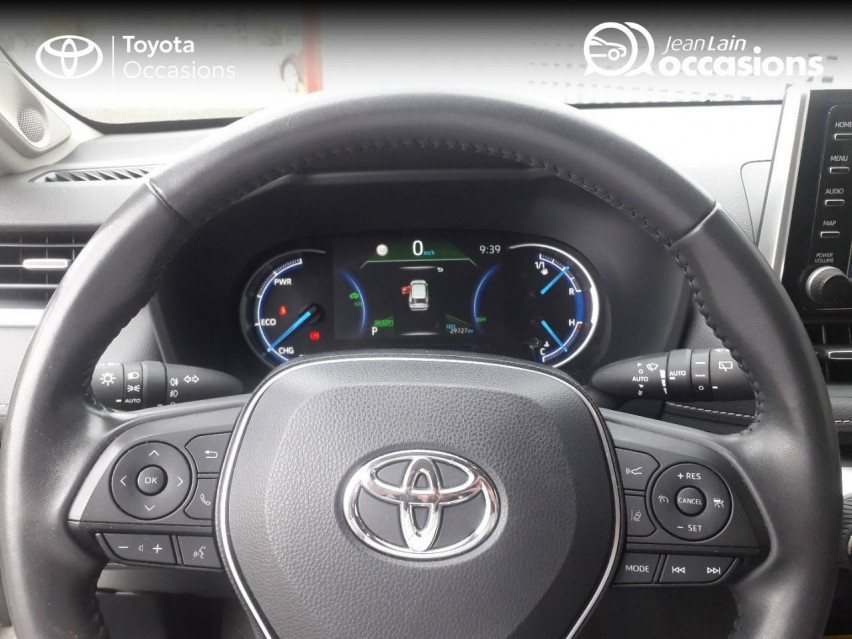 TOYOTA RAV4 HYBRIDE MY20 RAV4 Hybride 218 ch 2WD Lounge 04/11/2019                                                      en vente à Tournon - Image n°11