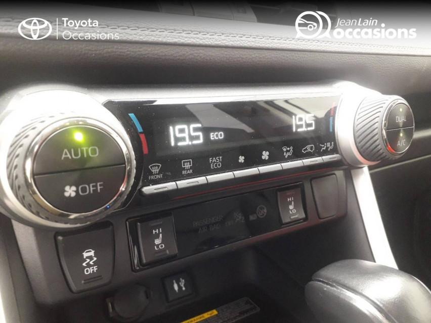 TOYOTA RAV4 HYBRIDE MY20 RAV4 Hybride 218 ch 2WD Lounge 04/11/2019                                                      en vente à Tournon - Image n°19