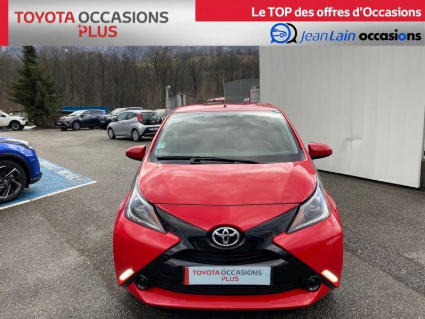 TOYOTA AYGO Aygo 1.0 VVT-i x-red 26/03/2018                                                      en vente à La Motte-Servolex - Image n°2
