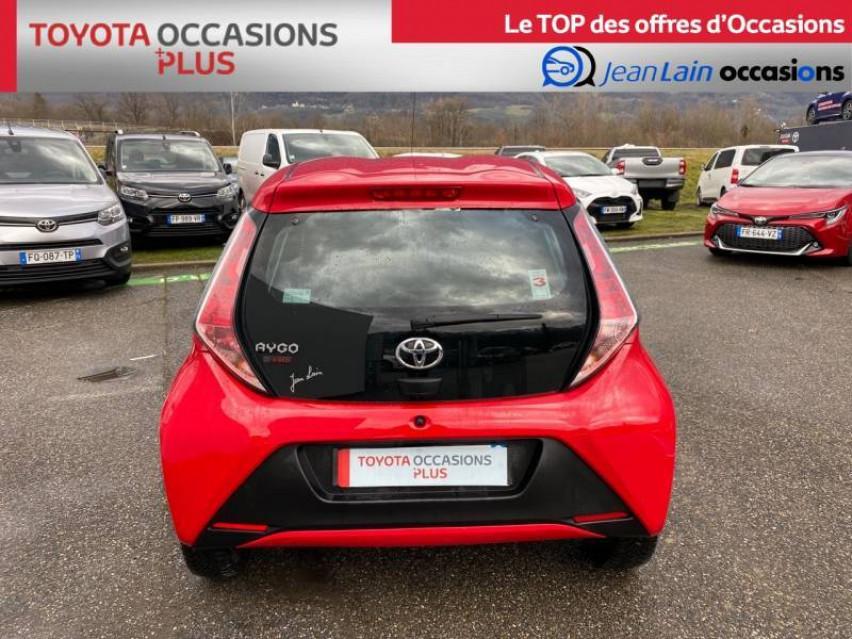 TOYOTA AYGO Aygo 1.0 VVT-i x-red 26/03/2018                                                      en vente à La Motte-Servolex - Image n°10