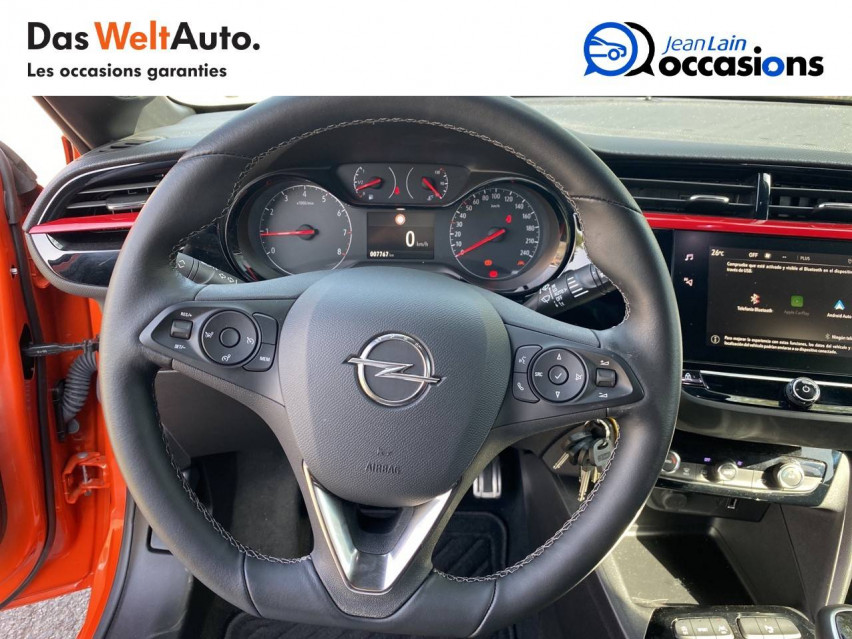 OPEL CORSA Corsa 1.2 Turbo 100 ch BVM6 GS Line 30/07/2020                                                      en vente à Bellegarde - Image n°12