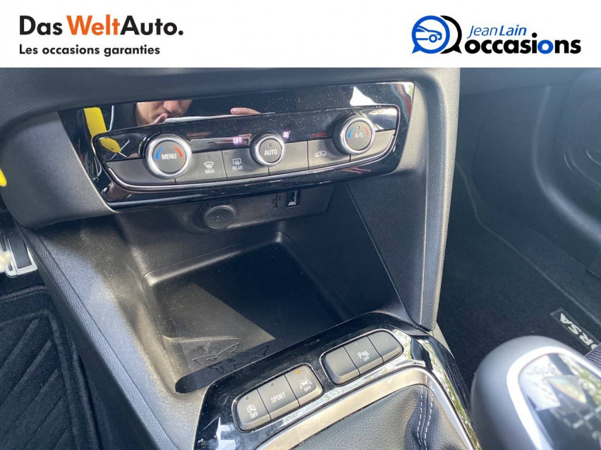 OPEL CORSA Corsa 1.2 Turbo 100 ch BVM6 GS Line 30/07/2020                                                      en vente à Bellegarde - Image n°14
