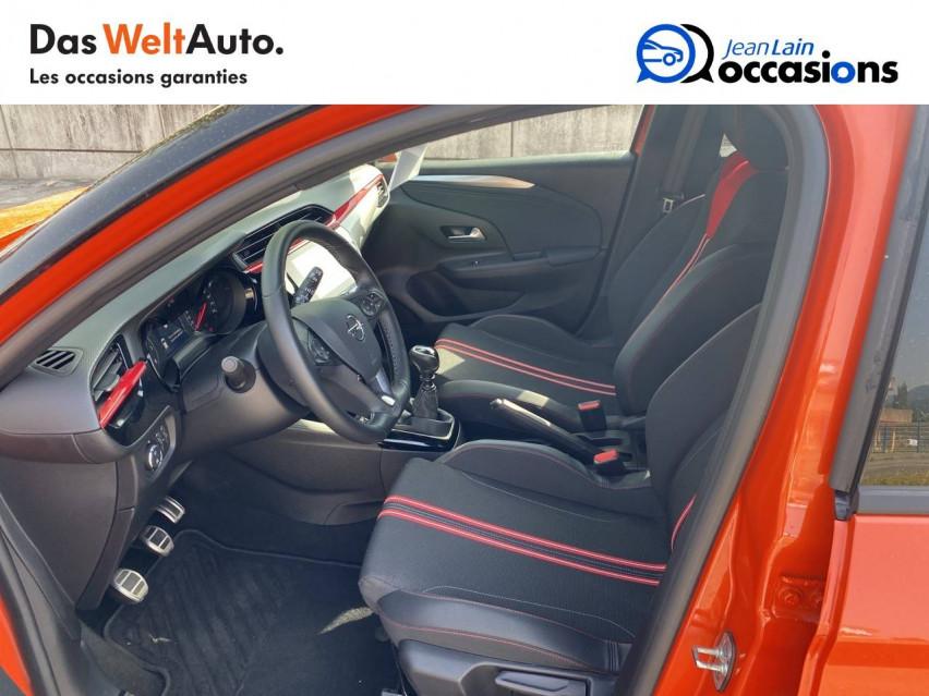 OPEL CORSA Corsa 1.2 Turbo 100 ch BVM6 GS Line 30/07/2020                                                      en vente à Bellegarde - Image n°11