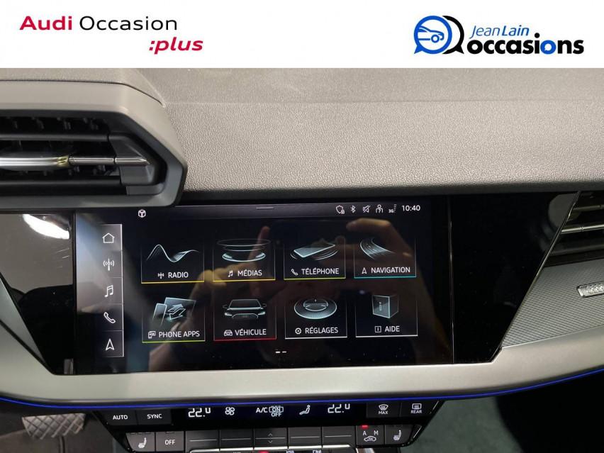 AUDI A3 SPORTBACK A3 Sportback 35 TFSI 150 S tronic 7 Design Luxe 30/10/2020                                                      en vente à Seynod - Image n°16